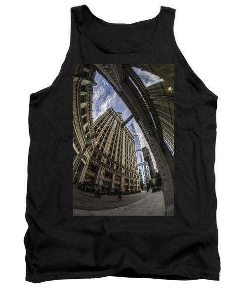Wrigley And Trump A Fisheye View Tank Top