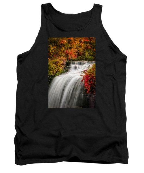 Fall At Minnehaha Falls Tank Top