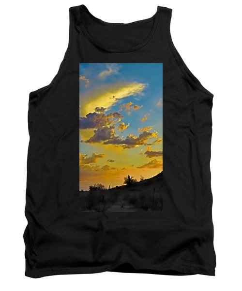Y Cactus Sunset 10 Tank Top