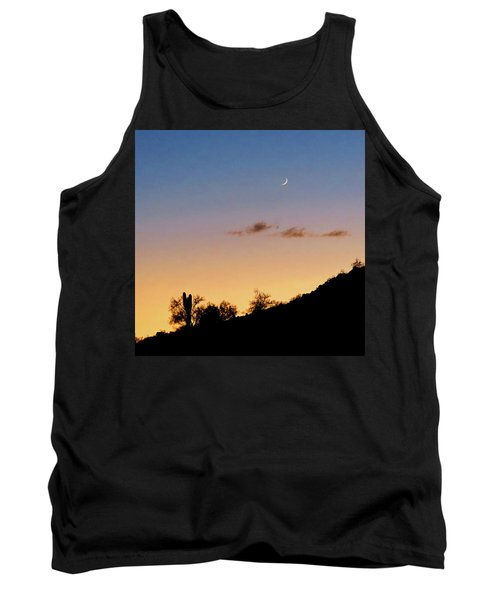 Y Cactus Sunset Moonrise Tank Top