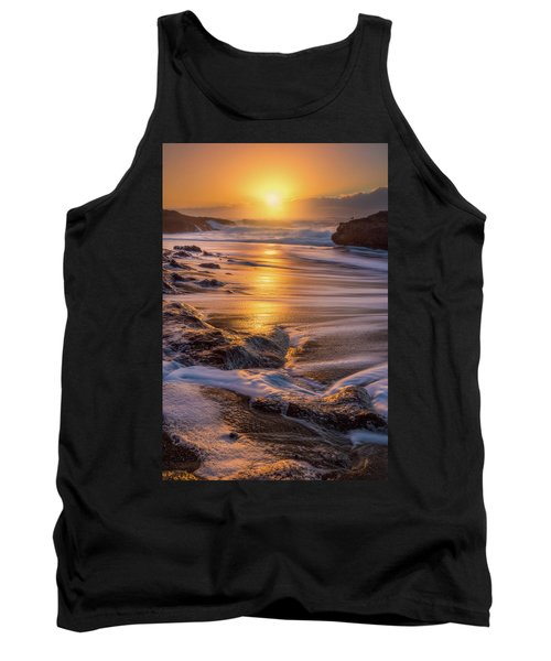 Tank Top featuring the photograph Yachats' Sun by Darren White