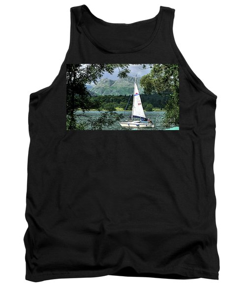 Yachting Lake Windermere Tank Top
