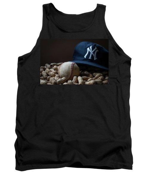 Yankee Cap Baseball And Peanuts Tank Top