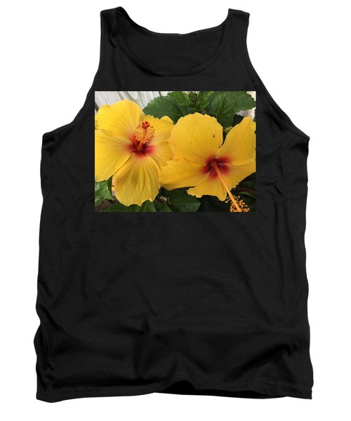 Yellow Beauties Tank Top
