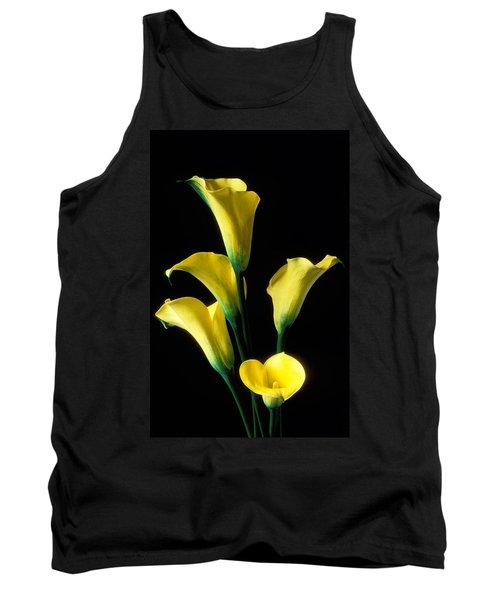 Yellow Calla Lilies  Tank Top