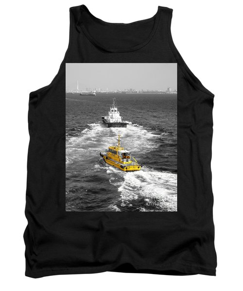 Yellow Pilot Yokohama Port Tank Top