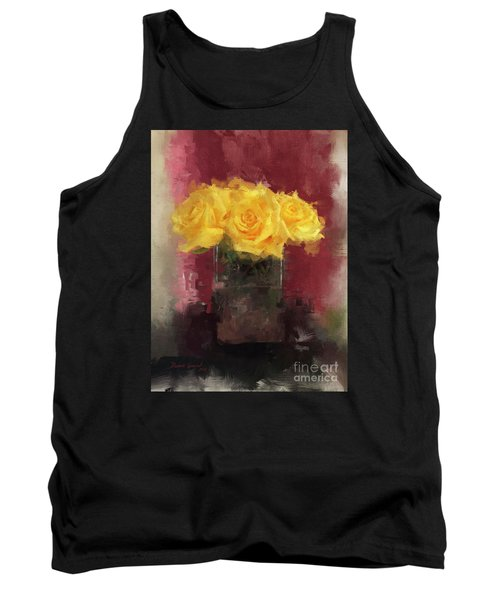 Yellow Roses Tank Top