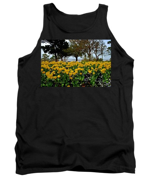 Yellow Tulips Of Fairhope Alabama Tank Top