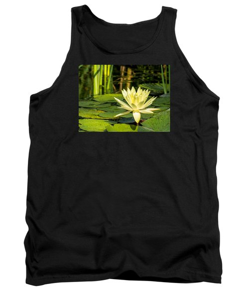 Yellow Water Lily Tank Top