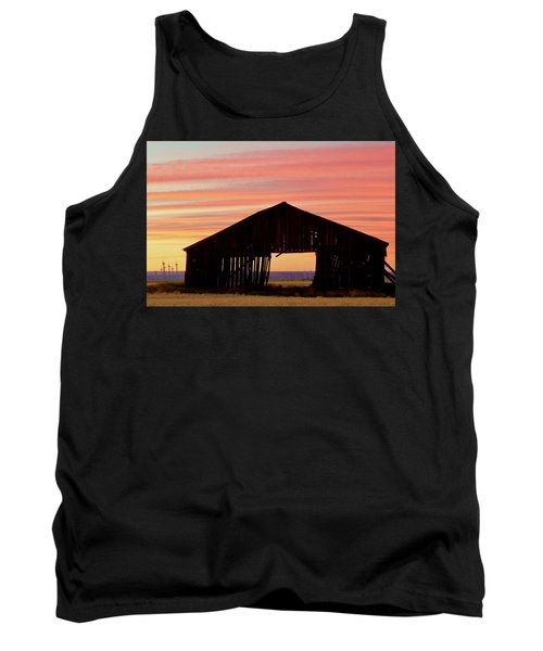 Yesterday And Today At Sunset Tank Top