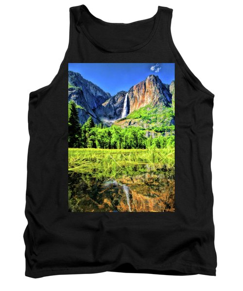Yosemite National Park Bridalveil Fall Tank Top
