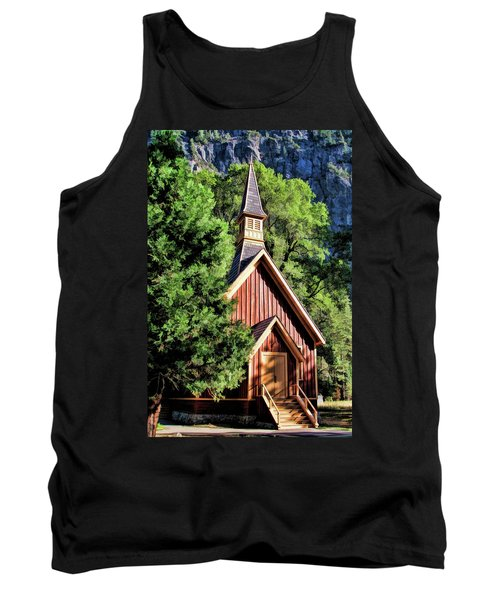 Yosemite National Park Valley Chapel Tank Top