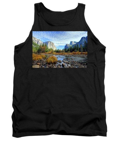 Yosemite Valley View Tank Top
