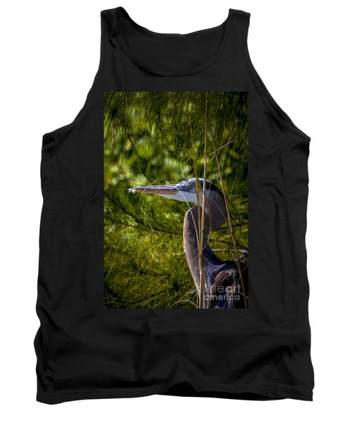 You Can't See Me Tank Top by Marvin Spates