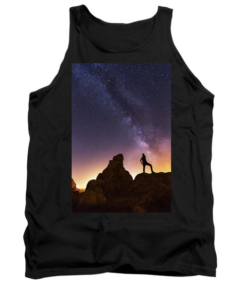 You Cant Take The Sky From Me Tank Top by Tassanee Angiolillo