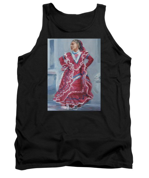 Young Dancer At Arneson Theater Tank Top