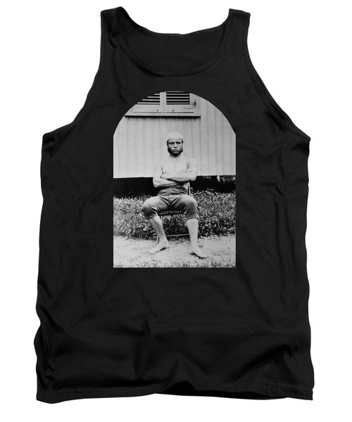Young Teddy Roosevelt Shirtless - 1879 Tank Top