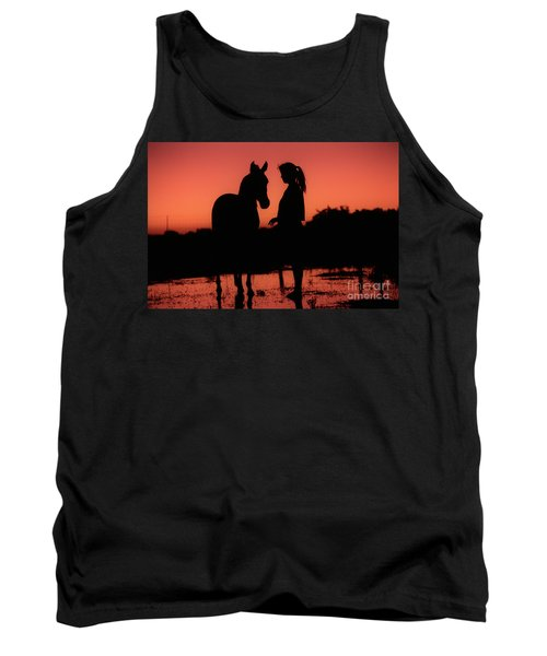 Tank Top featuring the photograph Youth by Jim and Emily Bush