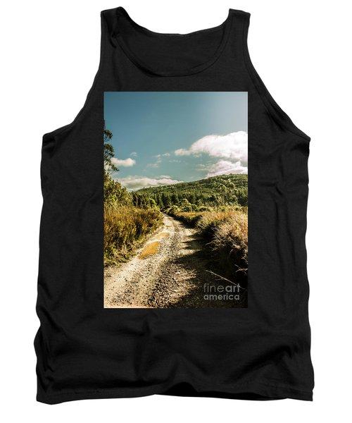 Zeehan Dirt Road Landscape Tank Top