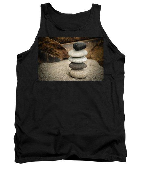 Zen Stones IIi Tank Top by Marco Oliveira