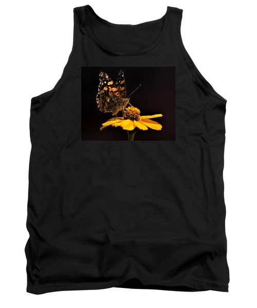 Zinnia Sipping Tank Top by Alana Thrower