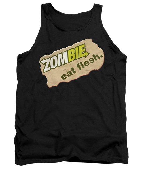 Zombie - Eat Flesh Tank Top