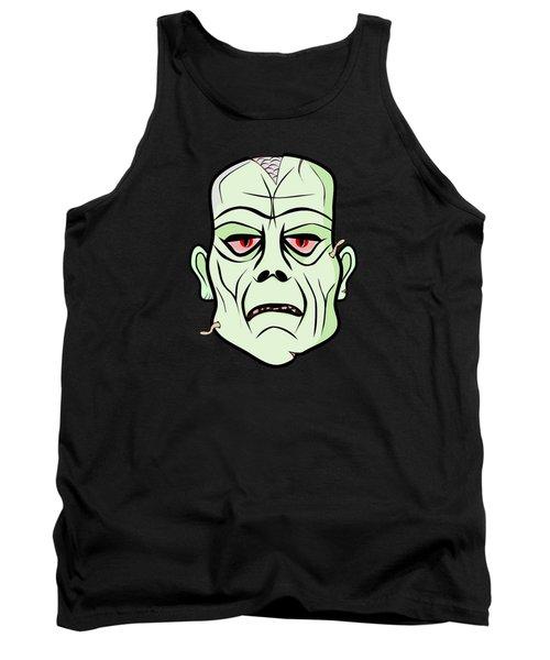 Zombie Head Tank Top