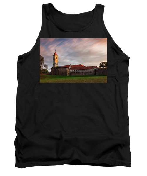 Tank Top featuring the photograph Zrinskis' Castle by Davor Zerjav