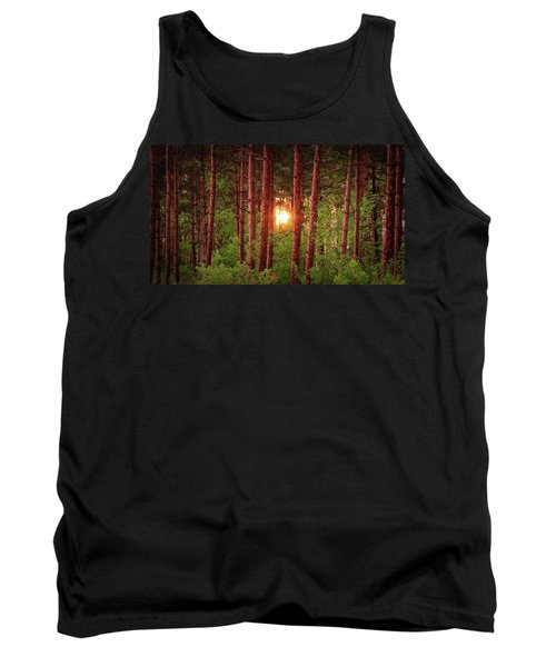 010 - Pine Sunset Tank Top