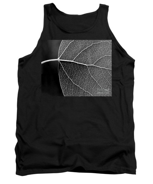 Aspen Leaf Veins Tank Top