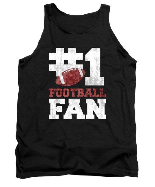 #1 Football Fan Tank Top