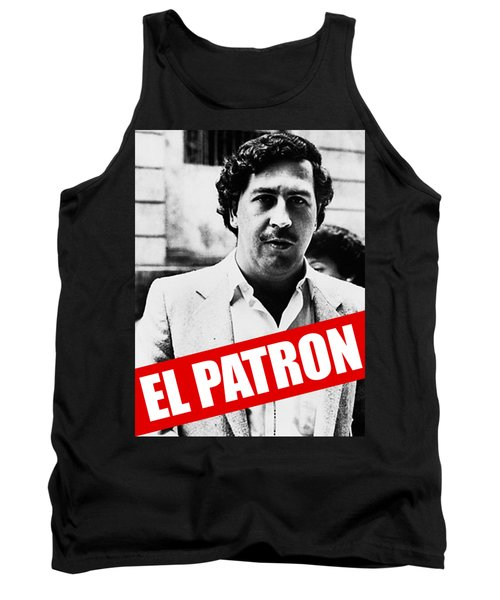 Pablo Escobar Tank Top