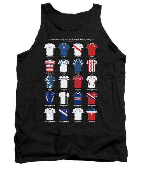 The Evolution Of The Us World Cup Soccer Jersey Tank Top