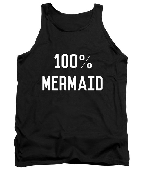 100 Mermaid Tank Top