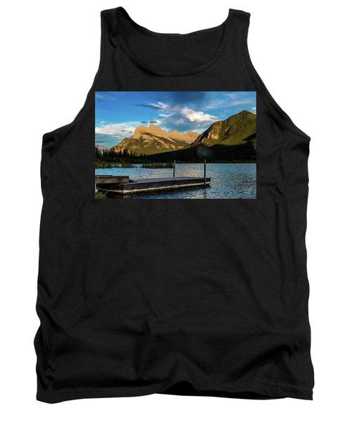Vermillion Lakes, Banff National Park, Alberta, Canada Tank Top