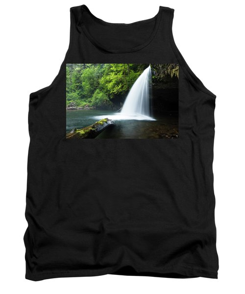 Waterfall In A Forest, Samuel H Tank Top