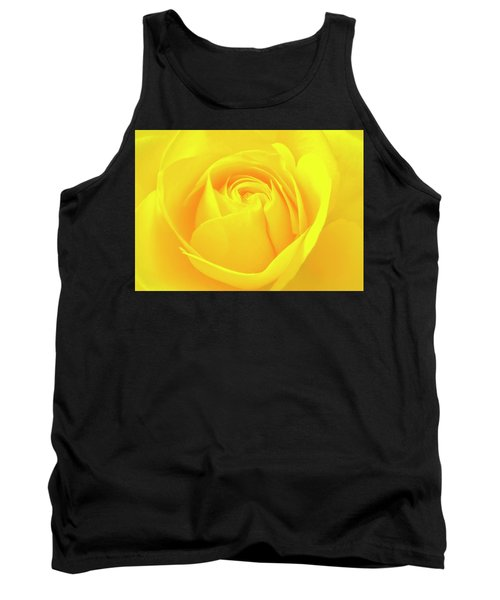 A Yellow Rose For Joy And Happiness Tank Top
