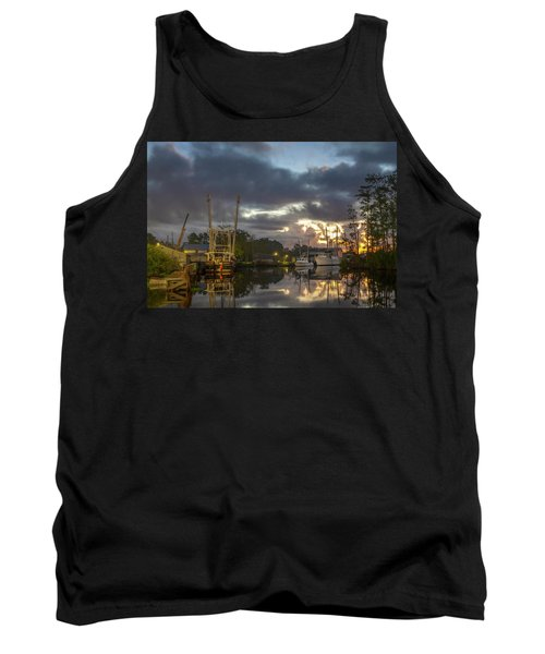 After The Storm Sunrise Tank Top