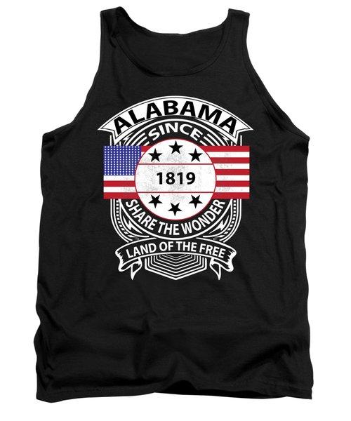Alabama Grunge Tank Top