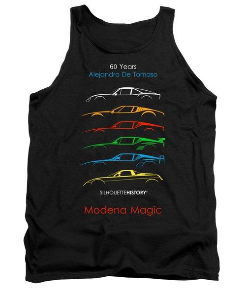 Alejandro's Sports Car 60 Silhouettehistory Tank Top