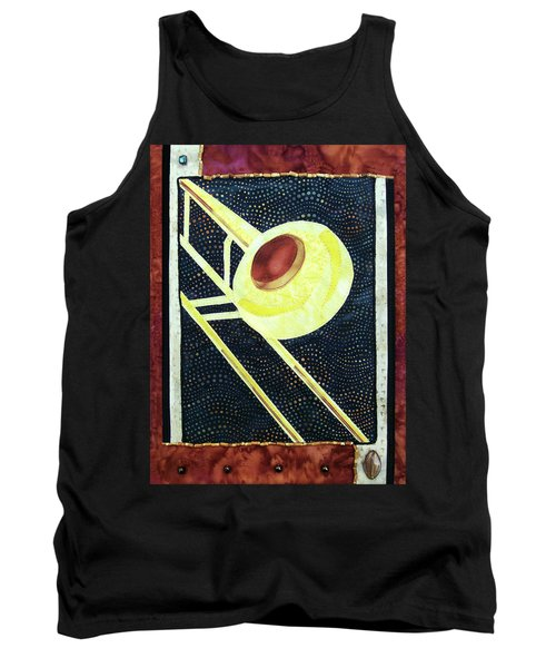 All That Jazz Trombone Tank Top