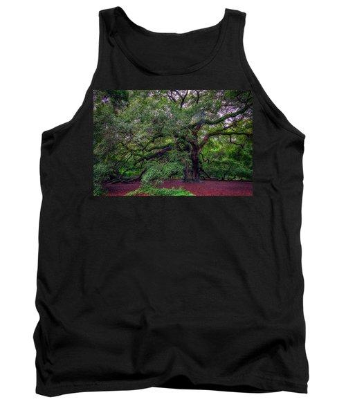 Angel Oak Tree Tank Top