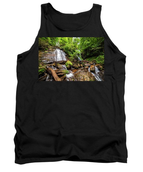 Tank Top featuring the photograph Anna Ruby Falls by Andy Crawford