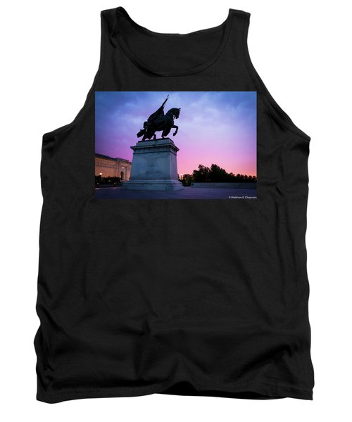 Apotheosis Of St. Louis, King Of France Tank Top