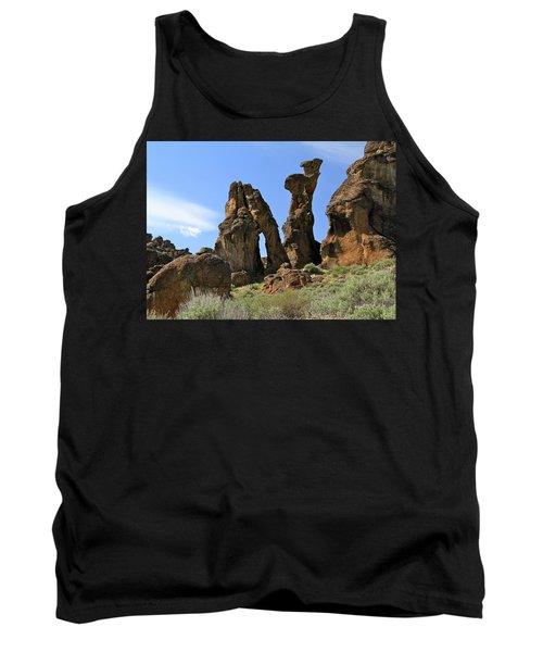 Arches Hoodoos Castles Tank Top
