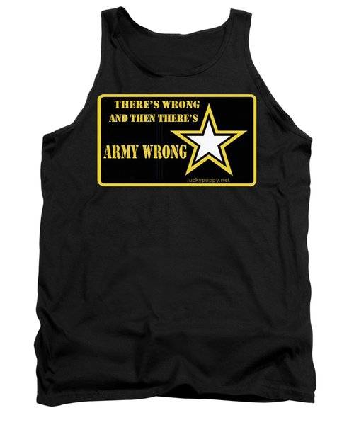 Army Wrong Tank Top