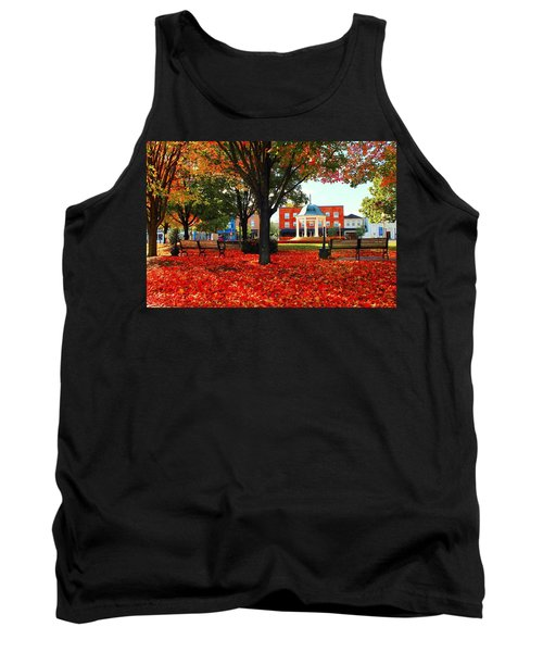 Autumn Main Street Tank Top