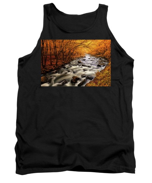 Autumn On The Little River Tank Top