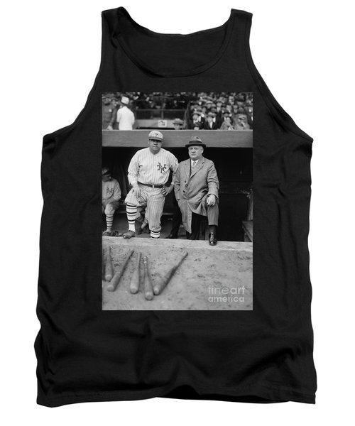 Babe Ruth And John Mcgraw New York Tank Top