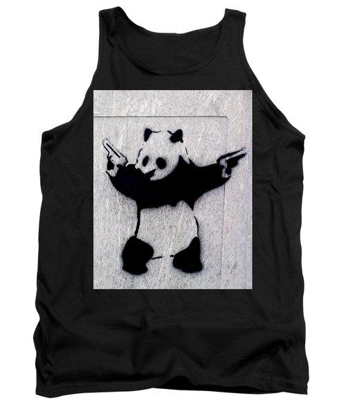 Banksy Panda Tank Top
